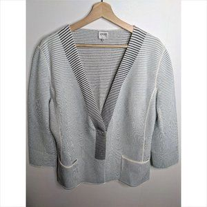 Armani | Ribbed Sweater Jacket
